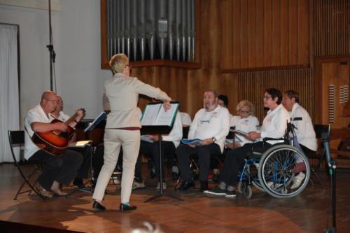 concerto coro degli afasici al conservatorio nicolini di Piacenza